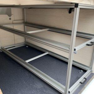 Schwerlastauszug Garage Kastenwagen